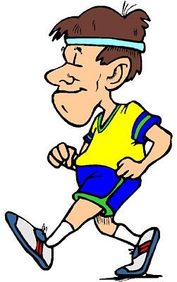 Jogger Clipart.