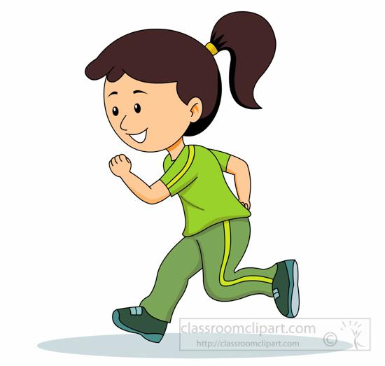 Jogging clipart free.