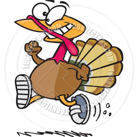 Cartoon Turkey Trot by Ron Leishman.
