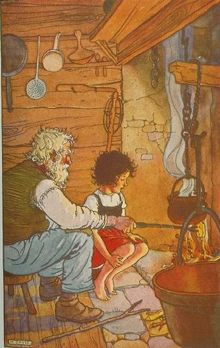 LOVED this story as a child! Read it over and over!! From Heidi by.
