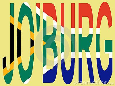 Vector Illustration Of Johannesburg Stock Vector.