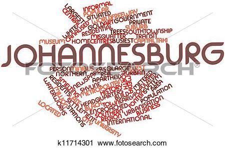 Clipart of Johannesburg k11714301.