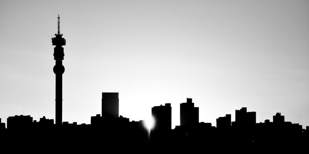 City Skyline Graphic.