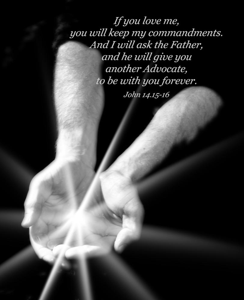 Gospel of ohn John 14:15.