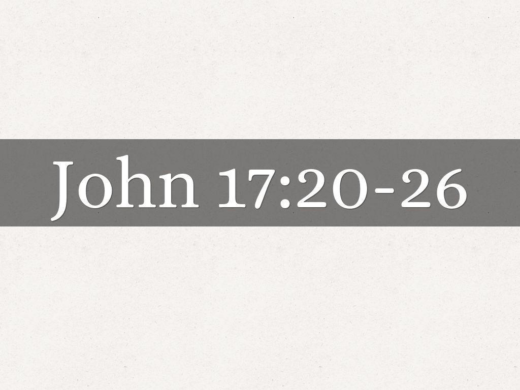 John 17:20.