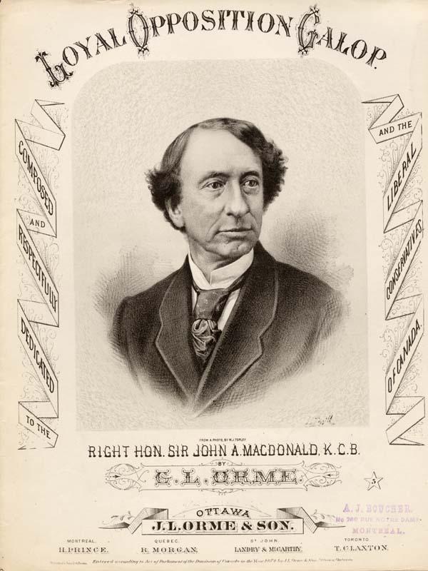 John a macdonald clipart.
