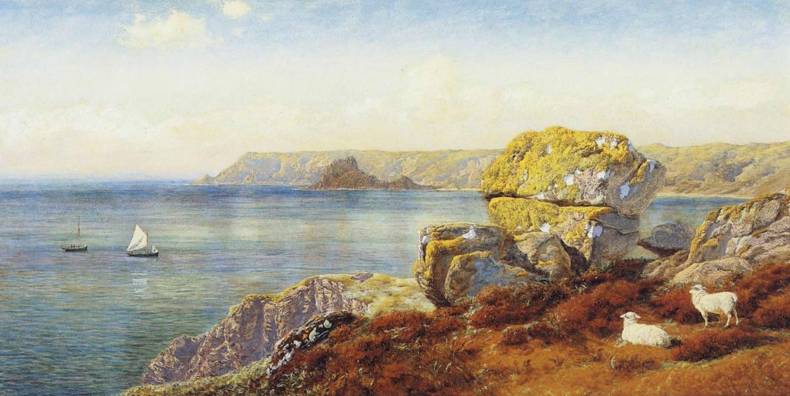 john brett pre raphaelite landscape painter.