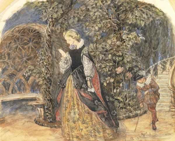 Pre Raphaelite Art: April 2011.