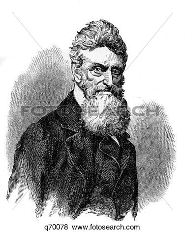 Pictures of 1800S 1850S Portrait Of Abolitionist John Brown Of.