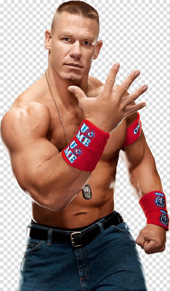 John Cena transparent background PNG clipart.