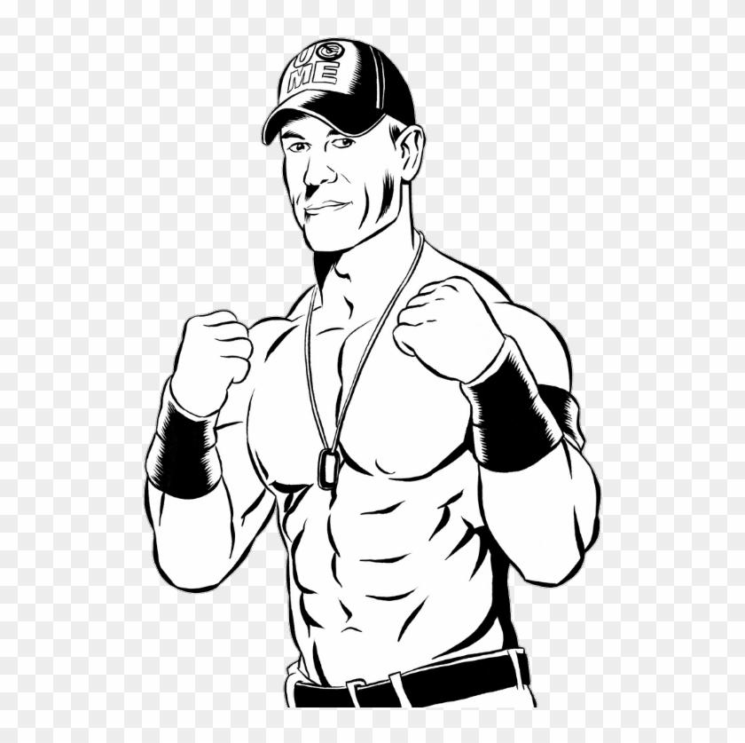 John Cena Clipart Bird.
