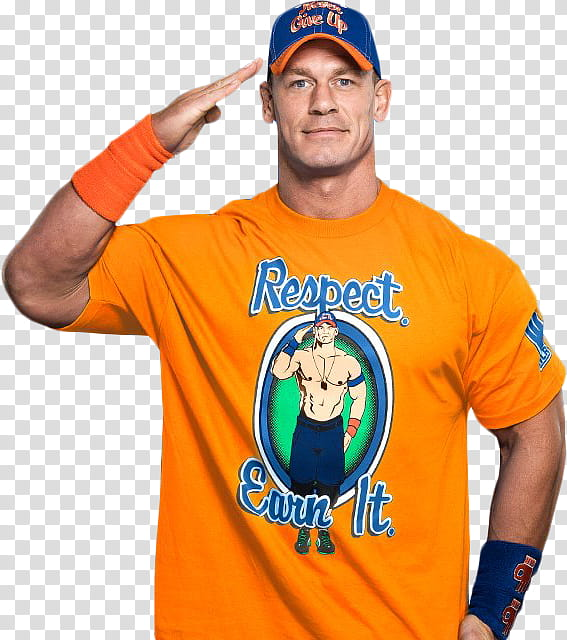 John Cena NEW T shirt transparent background PNG clipart.