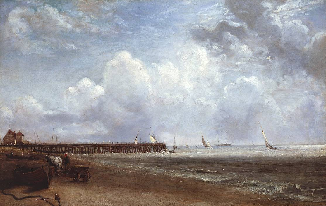 John Constable, 'Yarmouth Jetty' after 1823.