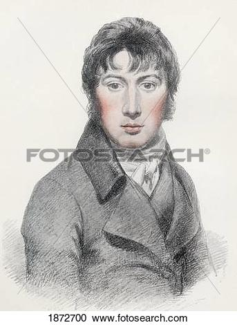 Stock Photography of John Constable, 1776 To 1837. English.