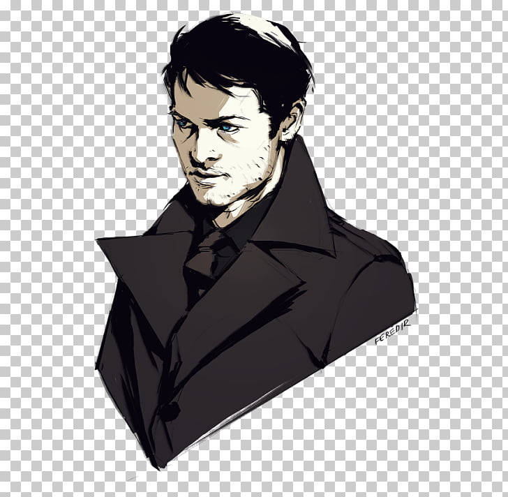 Misha Collins Castiel Supernatural Dean Winchester Sam.