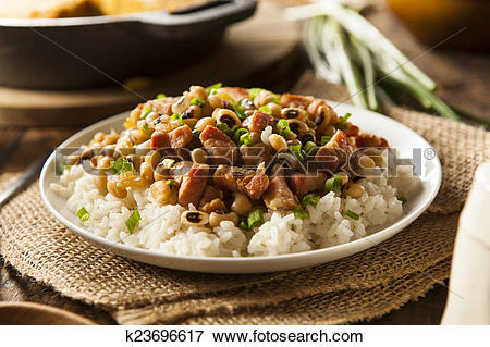 Picture of Homemade Southern Hoppin John k23696617.