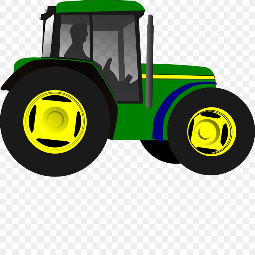 John Deere Tractor Agriculture Clip Art, PNG, 900x900px.