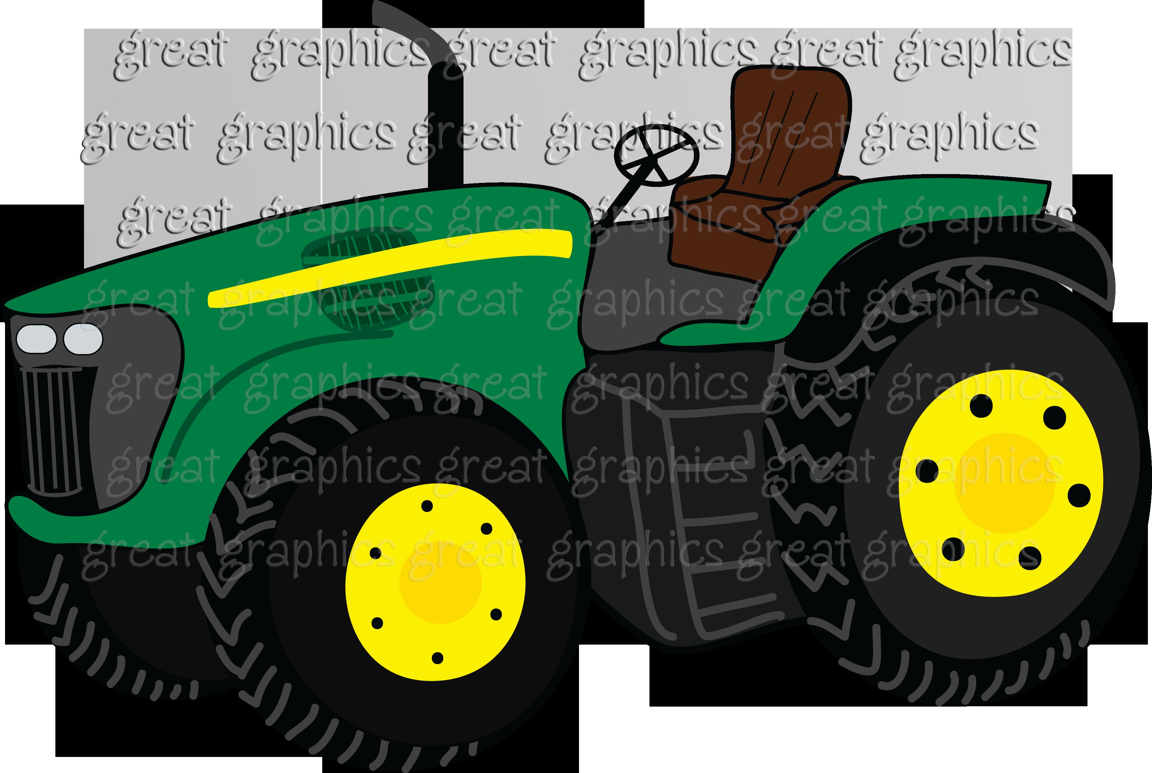 Free Clip art of John Deere Tractor Clipart #2590 Best John Deere.