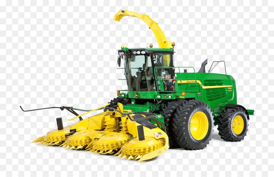 john deere 7780 clipart John Deere Forage harvester Combine.