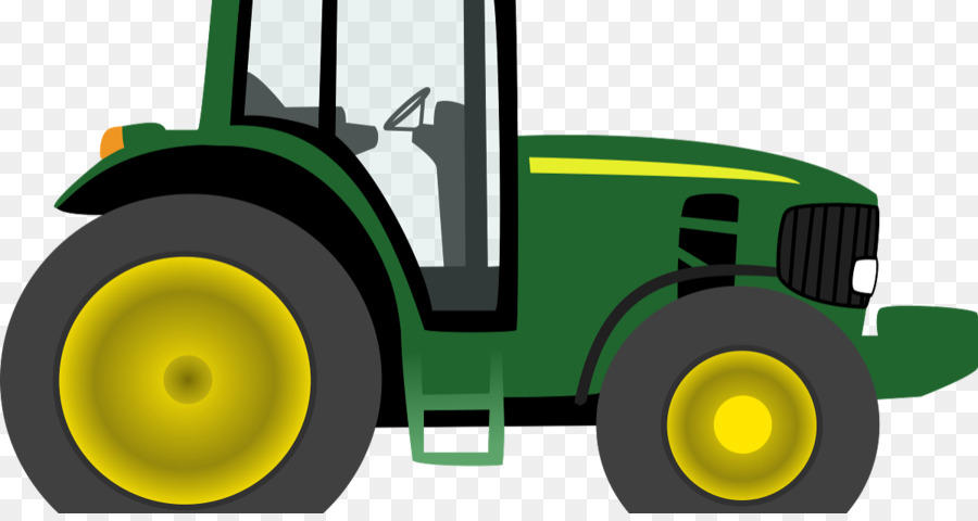 John Deere Clip Art: Transportation Tractor Agriculture.