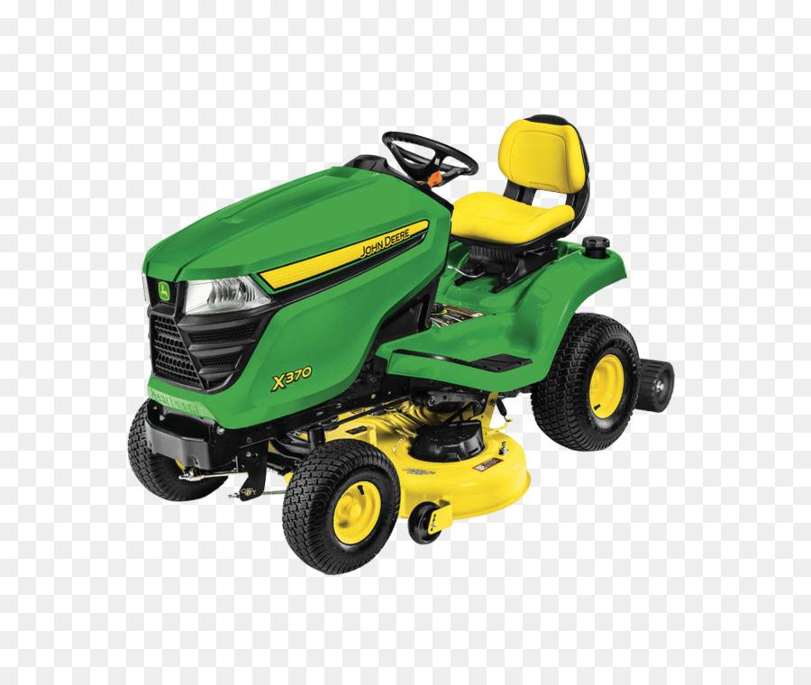john deere x370 clipart John Deere Lawn Mowers Tractor.
