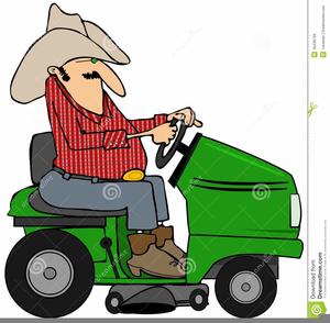 John Deere Riding Mower Clipart.