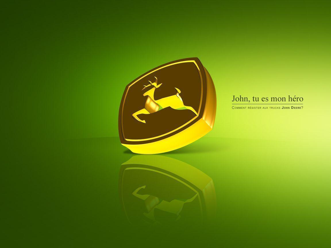 77+] John Deere Logo Wallpaper on WallpaperSafari.