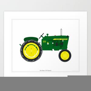 Tractor Clipart John Deere.
