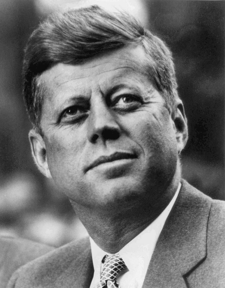 John F. Kennedy as president (article).