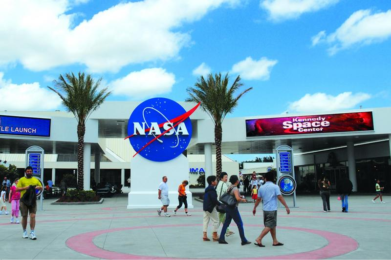 Kennedy Space Center Tour.