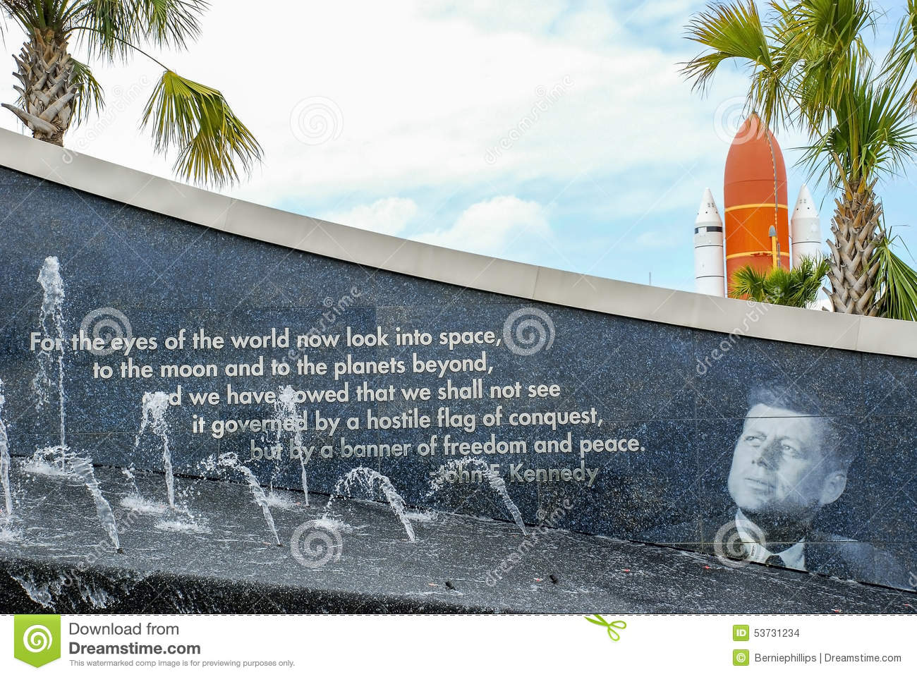 John F. Kennedy Space Center Editorial Stock Image.