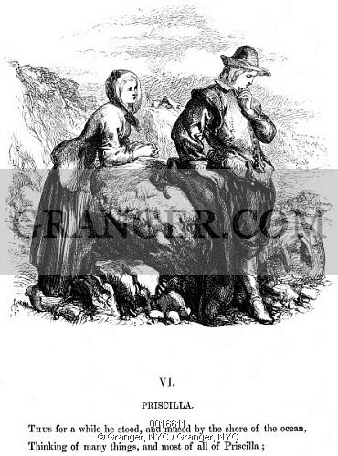 Image of LONGFELLOW: STANDISH, 1859..