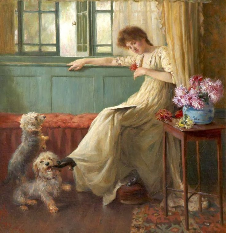 1000+ images about Domestic Pet Art 18th.