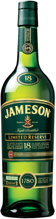 Jameson St Patrick's day limited edition bottle.