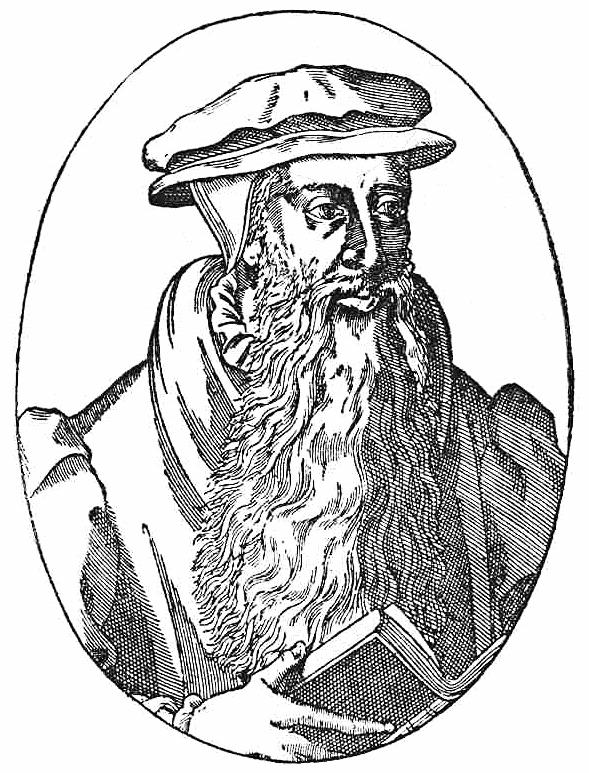 John Knox lineart.