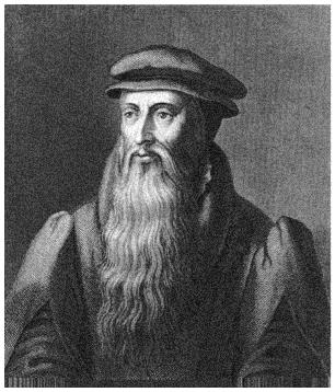 Portraits of John Knox.