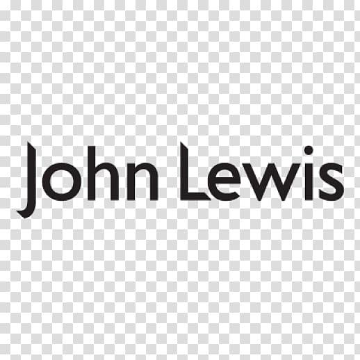 Black John Lewis text, John Lewis Logo transparent.