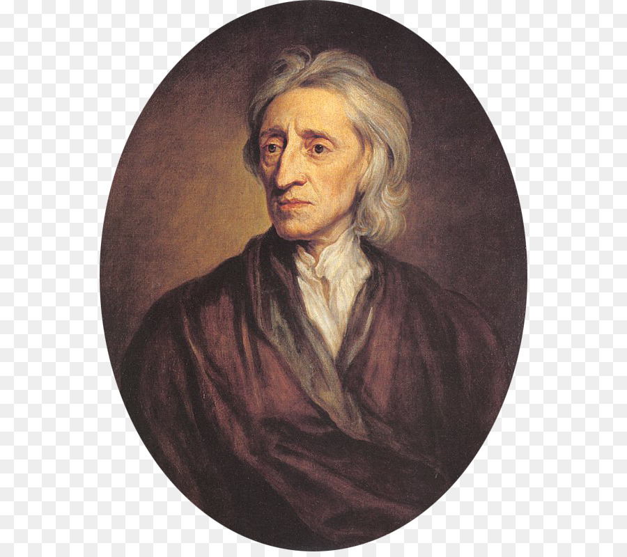 John Locke Portrait png download.