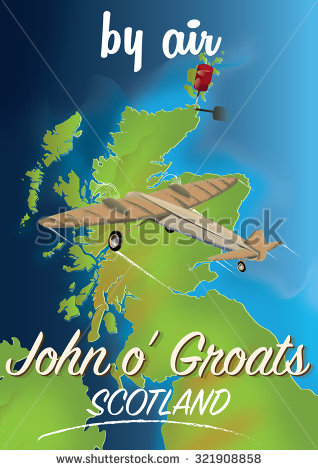Scotland By Train Featuring Landscape Stock Illustration 318880136.