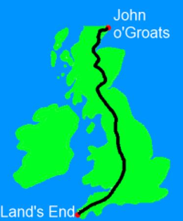 Teachers cycle Land's End to John O'Groats 2016 for GANF on MyDonate.