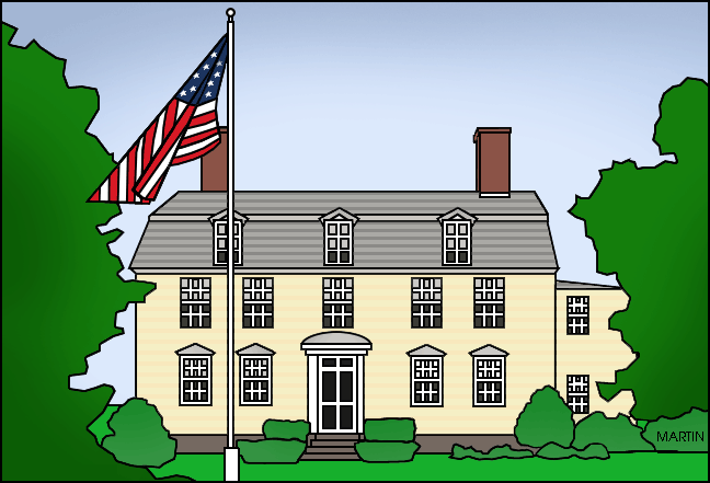 Free United States Clip Art by Phillip Martin, Famous Locations in.