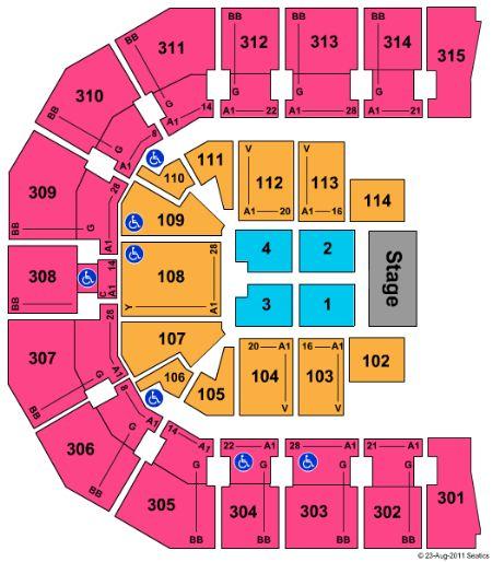 John Paul Jones Arena Tickets in Charlottesville Virginia, Seating.