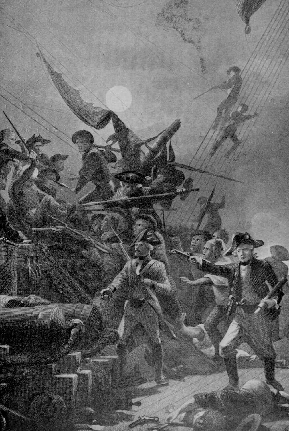 Pictures of the Revolutionary War.
