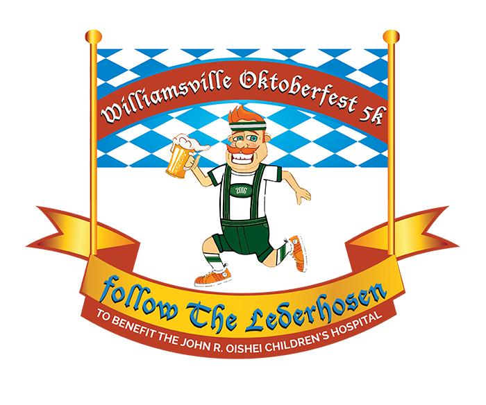 Williamsville Oktoberfest Follow the Lederhosen 5K Fun Run.