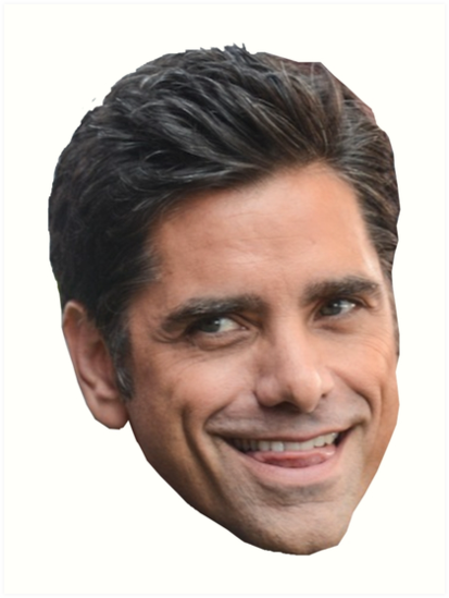 'John Stamos' Art Print by smallandup.