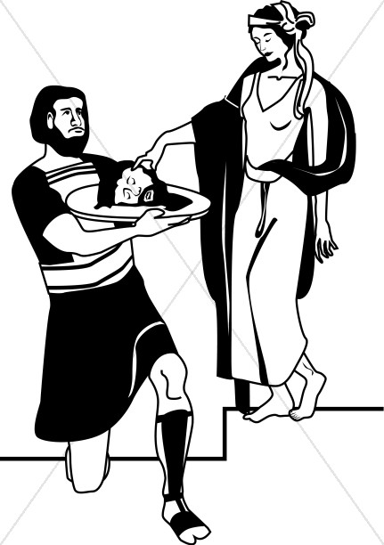 The Death of John the Baptist.