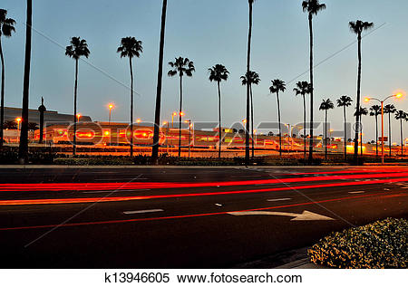 Stock Image of John Wayne Airport k13946605.