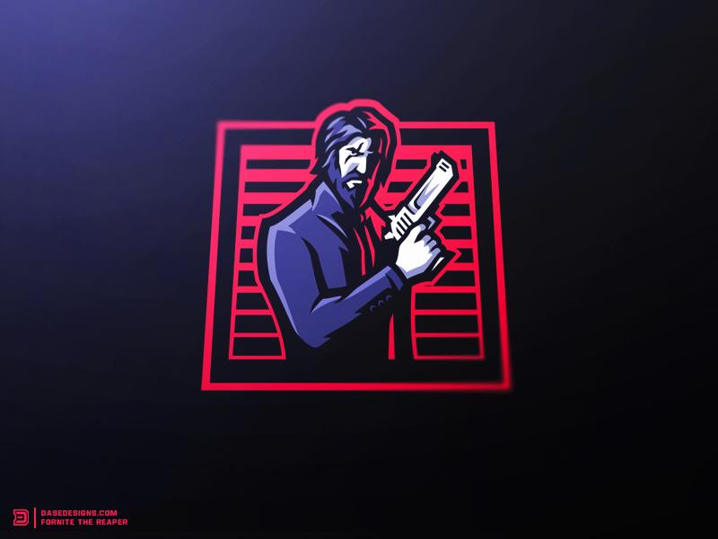 Fortnite The Reaper eSports Logo by Derrick Stratton on Dribbble.