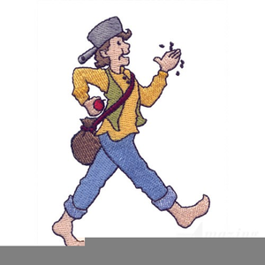 Free Clipart Johnny Appleseed.