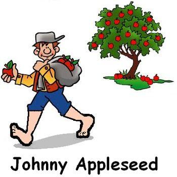 Johnny Appleseed Sept 26.